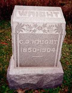 WRIGHT, C.G. - Cedar County, Iowa | C.G. WRIGHT