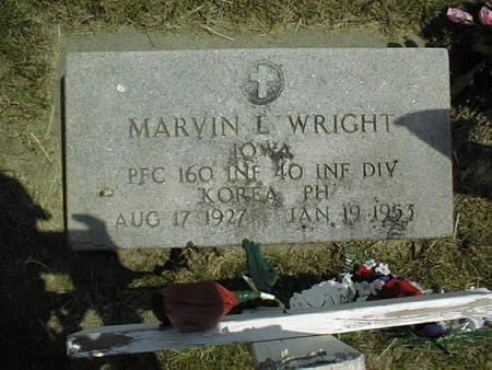 WRIGHT, MARVIN L. - Cedar County, Iowa | MARVIN L. WRIGHT