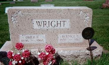WRIGHT, BERNICE C. - Cedar County, Iowa | BERNICE C. WRIGHT