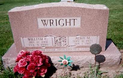 WRIGHT, WILLIAM C. - Cedar County, Iowa | WILLIAM C. WRIGHT