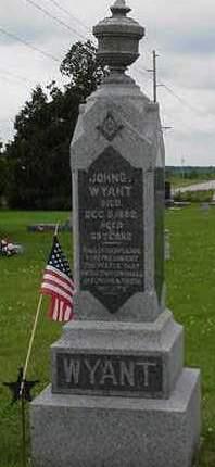 WYANT, JOHN G. - Cedar County, Iowa | JOHN G. WYANT
