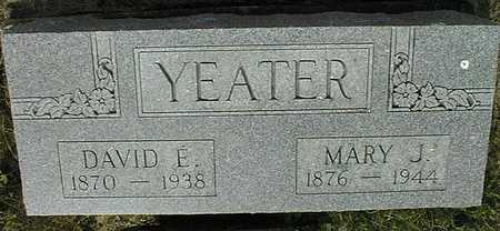 YEATER, MARY J. - Cedar County, Iowa | MARY J. YEATER