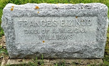 ZINGG, FRANCES E. - Cedar County, Iowa | FRANCES E. ZINGG