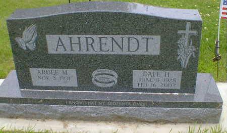 AHRENDT, DALE H. - Cerro Gordo County, Iowa | DALE H. AHRENDT