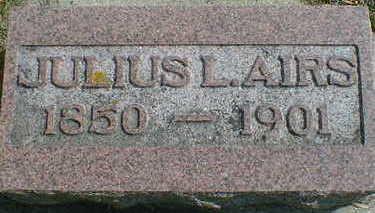AIRS, JULIUS L. - Cerro Gordo County, Iowa | JULIUS L. AIRS