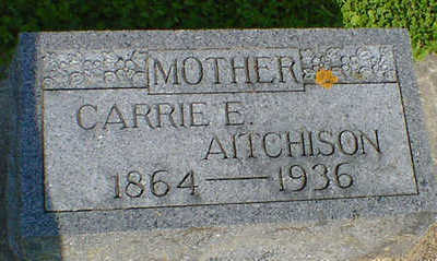 AITCHISON, CARRIE E. - Cerro Gordo County, Iowa | CARRIE E. AITCHISON