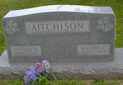 AITCHISON, MAXINE E. - Cerro Gordo County, Iowa | MAXINE E. AITCHISON