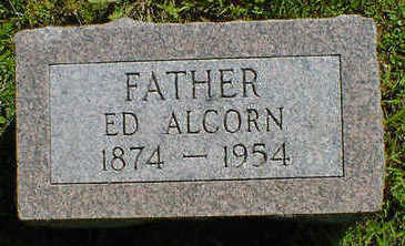 ALCORN, ED - Cerro Gordo County, Iowa | ED ALCORN