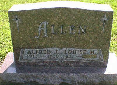 ALLEN, ALFRED J. - Cerro Gordo County, Iowa | ALFRED J. ALLEN