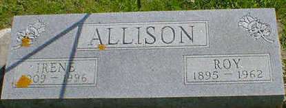 ALLISON, ROY - Cerro Gordo County, Iowa | ROY ALLISON