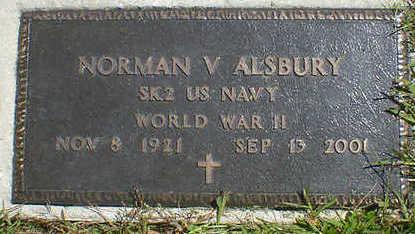ALSBURY, NORMAN V. - Cerro Gordo County, Iowa | NORMAN V. ALSBURY