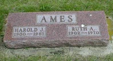 AMES, RUTH A. - Cerro Gordo County, Iowa | RUTH A. AMES
