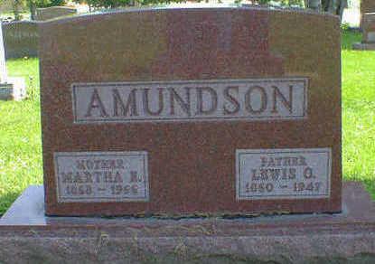 AMUNDSON, LEWIS O. - Cerro Gordo County, Iowa | LEWIS O. AMUNDSON