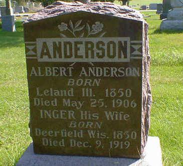 ANDERSON, ALBERT - Cerro Gordo County, Iowa | ALBERT ANDERSON
