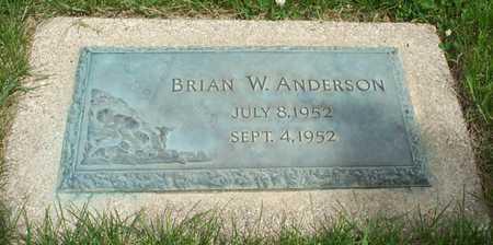 ANDERSON, BRIAN W - Cerro Gordo County, Iowa | BRIAN W ANDERSON