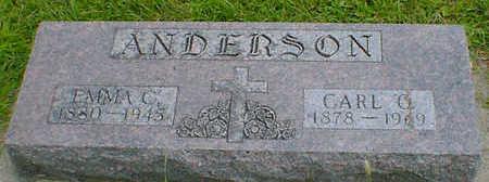 ANDERSON, CARL C. - Cerro Gordo County, Iowa | CARL C. ANDERSON