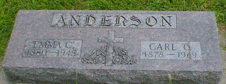 ANDERSON, EMMA C. - Cerro Gordo County, Iowa | EMMA C. ANDERSON