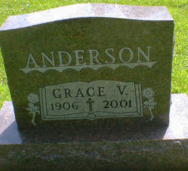 ANDERSON, GRACE V. - Cerro Gordo County, Iowa | GRACE V. ANDERSON
