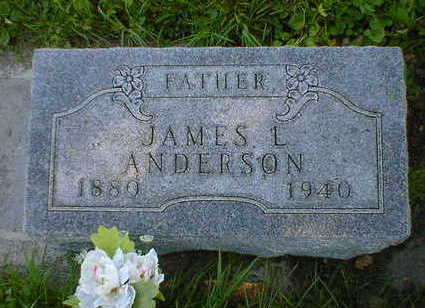 ANDERSON, JAMES L. - Cerro Gordo County, Iowa | JAMES L. ANDERSON