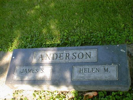 ANDERSON, JAMES S. - Cerro Gordo County, Iowa | JAMES S. ANDERSON