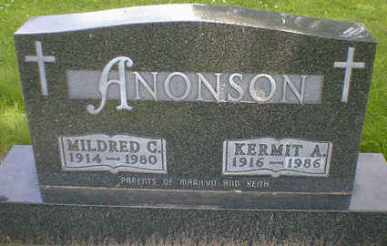 ANONSON, MILDRED C. - Cerro Gordo County, Iowa | MILDRED C. ANONSON