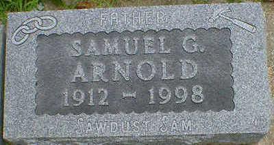 ARNOLD, SAMUEL G. - Cerro Gordo County, Iowa | SAMUEL G. ARNOLD