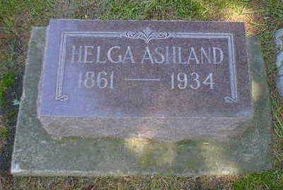 ASHLAND, HELGA - Cerro Gordo County, Iowa | HELGA ASHLAND