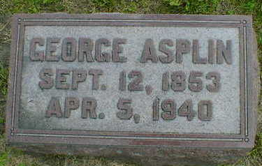ASPLIN, GEORGE - Cerro Gordo County, Iowa | GEORGE ASPLIN