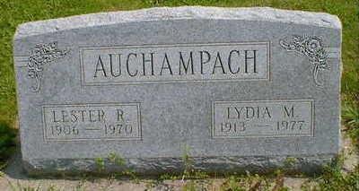 AUCHAMPACH, LYDIA M. - Cerro Gordo County, Iowa | LYDIA M. AUCHAMPACH