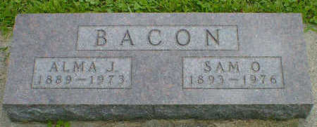 BACON, SAM O. - Cerro Gordo County, Iowa | SAM O. BACON
