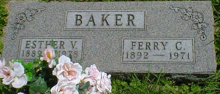 BAKER, ESTHER V. - Cerro Gordo County, Iowa | ESTHER V. BAKER