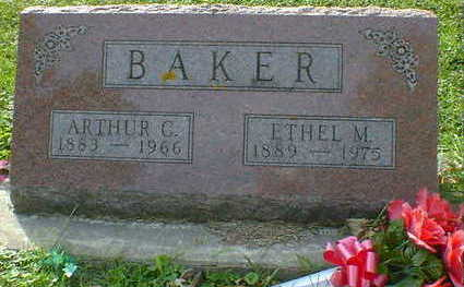 BAKER, ETHEL M. - Cerro Gordo County, Iowa | ETHEL M. BAKER