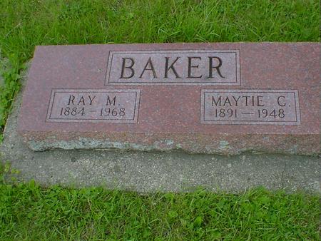 BAKER, MAYTIE C. - Cerro Gordo County, Iowa | MAYTIE C. BAKER