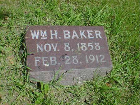 BAKER, WM. H. - Cerro Gordo County, Iowa | WM. H. BAKER