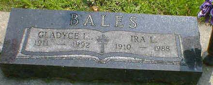 BALES, IRA L. - Cerro Gordo County, Iowa | IRA L. BALES