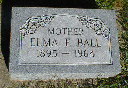 BALL, ELMA E. - Cerro Gordo County, Iowa | ELMA E. BALL