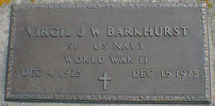 BARKHURST, VIRGIL J. W. - Cerro Gordo County, Iowa | VIRGIL J. W. BARKHURST