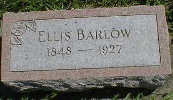 BARLOW, ELLIS - Cerro Gordo County, Iowa | ELLIS BARLOW