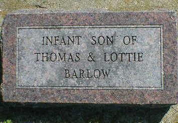 BARLOW, INFANT - Cerro Gordo County, Iowa | INFANT BARLOW