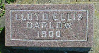 BARLOW, LLOYD ELLIS - Cerro Gordo County, Iowa | LLOYD ELLIS BARLOW