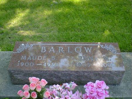 BARLOW, MAUDE B. - Cerro Gordo County, Iowa | MAUDE B. BARLOW