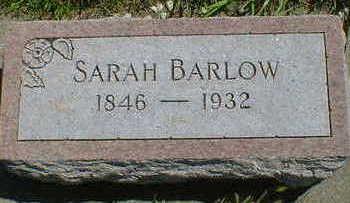 BARLOW, SARAH - Cerro Gordo County, Iowa | SARAH BARLOW