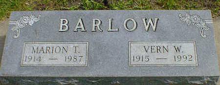 BARLOW, VERN W. - Cerro Gordo County, Iowa | VERN W. BARLOW
