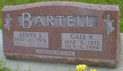 BARTELL, GALE R. - Cerro Gordo County, Iowa | GALE R. BARTELL