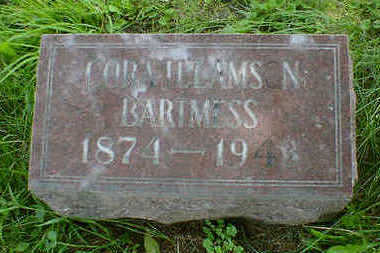 BARTMESS, CORA H. - Cerro Gordo County, Iowa | CORA H. BARTMESS