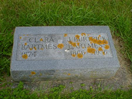 BARTMESS, CLARA - Cerro Gordo County, Iowa | CLARA BARTMESS