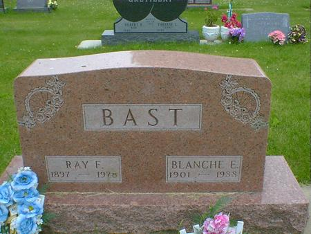BAST, RAY F. - Cerro Gordo County, Iowa | RAY F. BAST