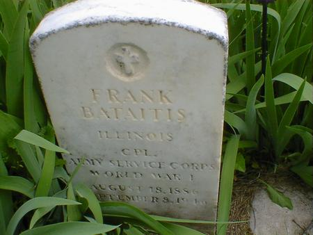 BATAITIS, FRANK - Cerro Gordo County, Iowa | FRANK BATAITIS