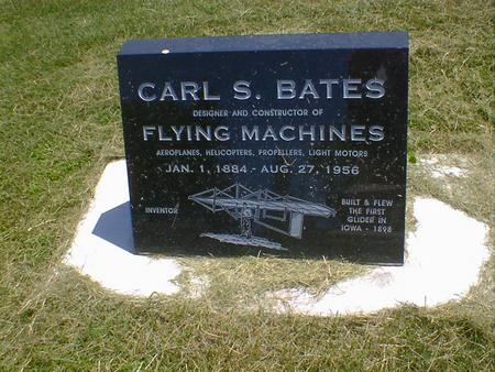 BATES, CARL S. - Cerro Gordo County, Iowa | CARL S. BATES