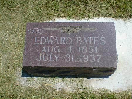 BATES, EDWARD - Cerro Gordo County, Iowa | EDWARD BATES